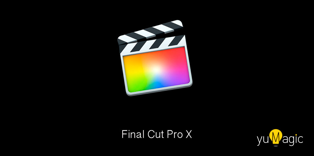 Final Cut Pro X con edición de vídeo VR